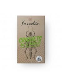 Criquets ail et basilic